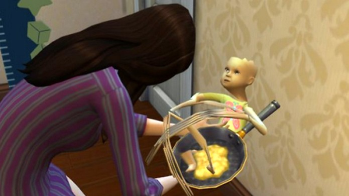 Bebês macabros estão infestando The Sims 4 (Foto: Kotaku) (Foto: Bebês macabros estão infestando The Sims 4 (Foto: Kotaku))