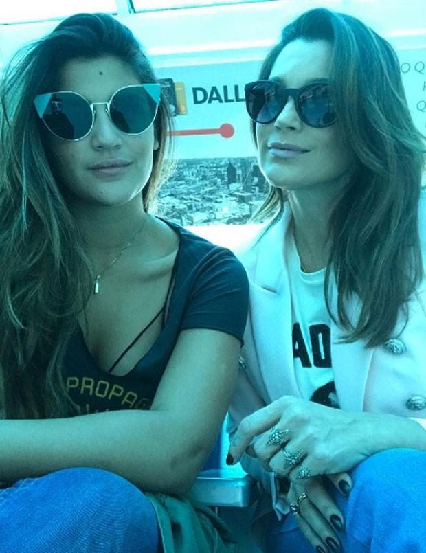Giulia e Flávia: semelhança (Foto: Reprodução Instagram)