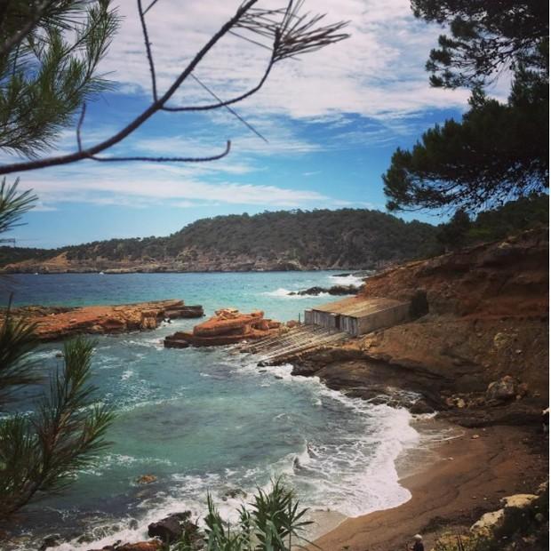 Ibiza por Yasmin Brunet e Evandro Soldati (Foto: Reprodução/Instagram)
