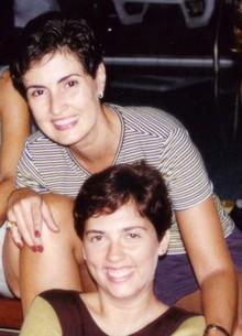 Fátima e Ana antiga (Foto: Encontro com Fátima Bernardes/TV Globo)