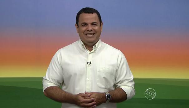 Cleverton Macedo apresenta o Estação Agrícola (Foto: Divulgação / TV Sergipe)