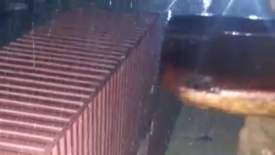 Em vídeo, guarda denuncia estrutura precária em guaritas de Alcaçuz; veja