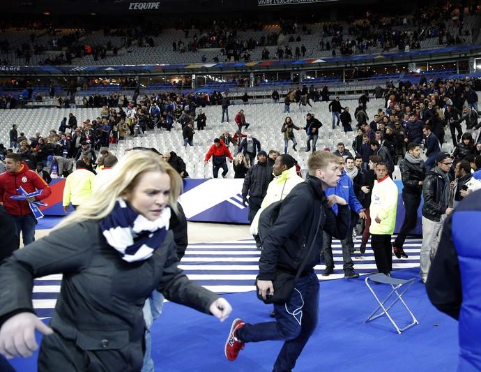 França - Alemanha - Atentado  (Foto: AP)