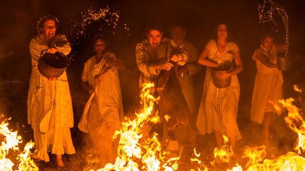 'Êta': Zé dos Porcos salva fazenda de incêndio! (divulgação)