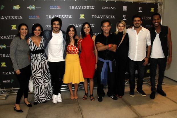 Pré estreia do filme Travessia (Foto: Marcos Ferreira / Brazil News / Divulgação )