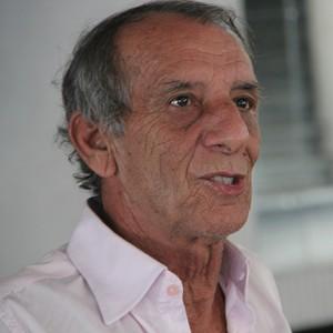 Aderbal Lana, técnico do Rio Negro (Foto: Marcos Dantas)