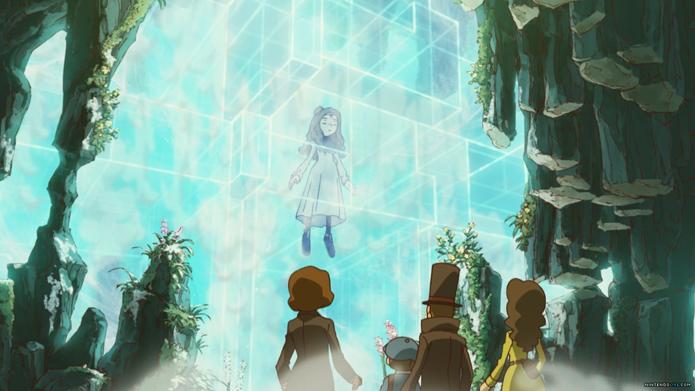 Aurora, uma misteriosa garota que possui ligação com as ruínas de Azram. (Foto: Divulgação)