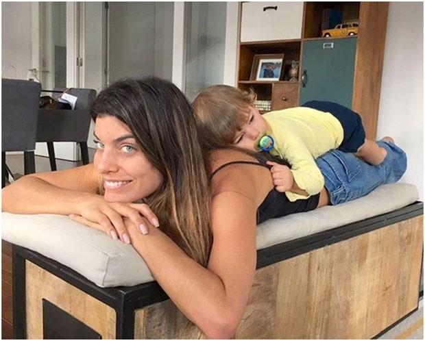 Para Joana, as mães portuguesas são mais apreensivas (Foto: Arquivo pessoal/ Joana Balaguer)