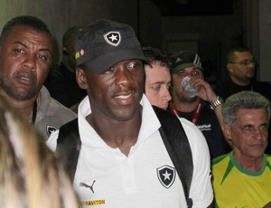 Seedorf  botafogo x madureira (Foto: Janir Junior)