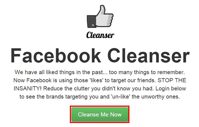 Aplicativo ajuda na hora de descurtir fanpages no Facebook (Foto: Reprodução/Paulo Alves)