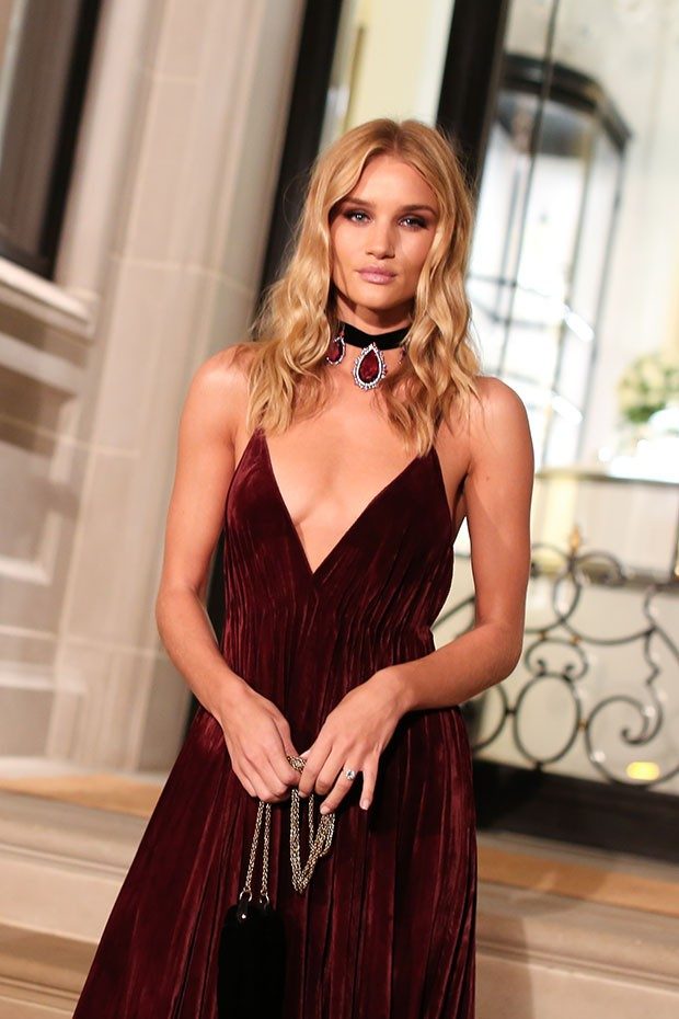 Model Rosie Huntington-Whiteley at the Ralph Lauren show (Foto: COURTESY OF RALPH LAUREN)