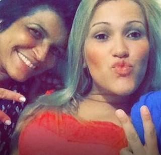 Sara Nellye, mãe de suposto filho de Cristiano Araújo (Foto: Reprodução/Facebook)