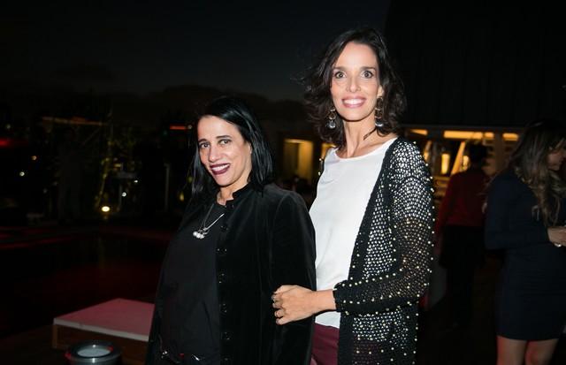 Gloria Coelho e Melissa Tavares (Foto: Arthur Vahia)