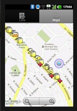 Aplicativo indica locais com adequações para necessidades especiais. (Foto: Reprodução)