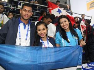 Os integrantes da delegação do Amapá (Foto: Thiago Rios Gomes)