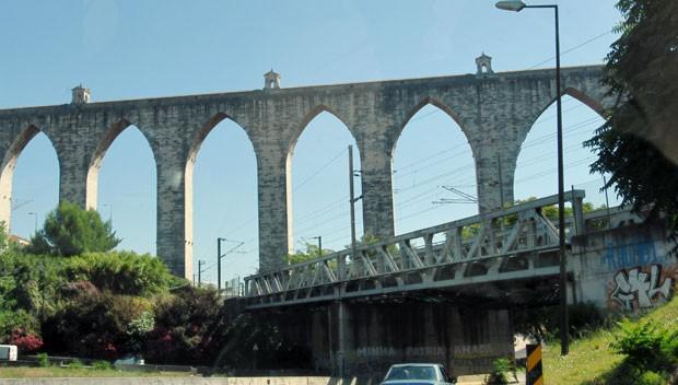 Aqueduto  (Foto: Arquivo Pessoal)