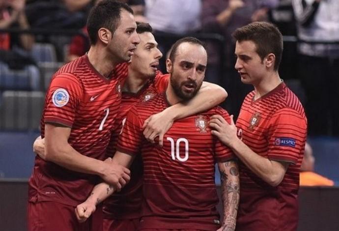 Ricardinho Portugal Espanha Uefa Euro Futsal (Foto: Divulgação/Sportsfile)