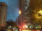 Incêndio atinge apartamento em Laranjeiras, Zona Sul do Rio