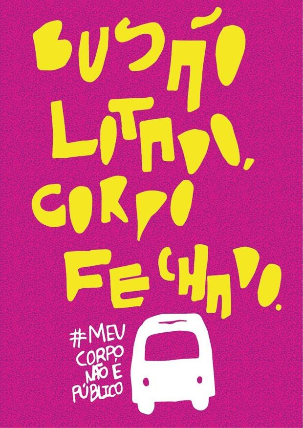 Imagem do Tumblr #MeuCorpoNãoÉPúblico (Foto: Reprodução)