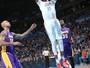 Sem Kobe Bryant, Lakers perdem do Thunder, liderado por Kevin Durant