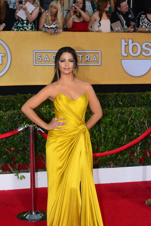 SAG Awards - Camila Alves (Foto: AFP)