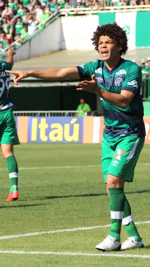 Camilo Chapecoense x Atlético-Pr (Foto: Cleberson Silva/Chapecoense)