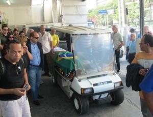 Enterro Felix (Foto: Leandro Canônico / Globoesporte.com)