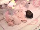 Campanha pede ajuda para bebê que não tem globos oculares (Reprodução/TV Anhanguera)
