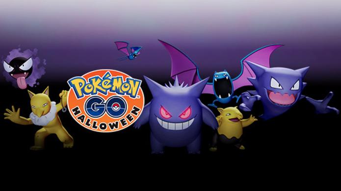 Os Pokémon participantes do evento de Halloween (Foto: Divulgação/Niantic)