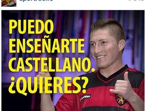 Chumacero - Sport (Foto: Reprodução/Internet)