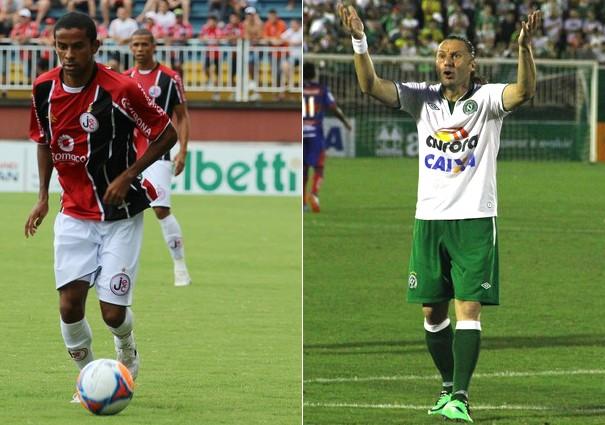 Joinville está em 8º e a Chapecoense em 9º na tabela do Campeonato (Foto: Assessoria/Joinville EC/Aguante Comunicação/Chapecoense/Reprodução globoesporte.com)