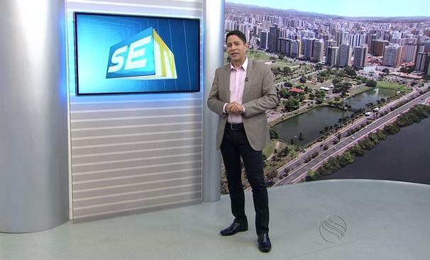 Ricardo Marques, apresentador do SETV 1ª Edição (Foto: Divulgação / TV Sergipe)