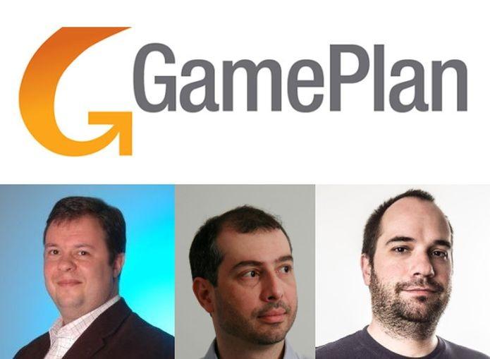 André Faure, Luciano Andrade e Henrique Martin são os nomes por trás da GamePlan (Foto: Divulgação)