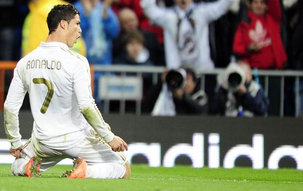 cristiano ronaldo real madrid x sporting gijon (Foto: AFP)