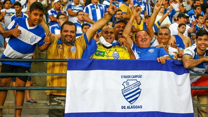 CSA torcida (Foto: Ailton Cruz / Gazeta de Alagoas)