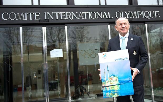 Kadir Topbas prefeito de Istambul candidatura Olimpíadas 2020 (Foto: EFE)