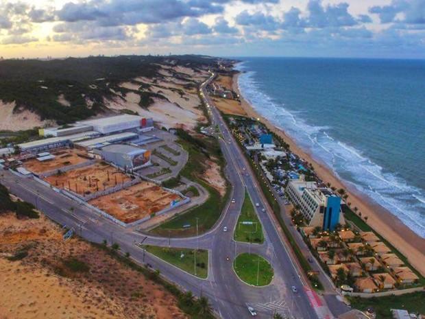 Via Costeira (Foto: Ney Douglas)
