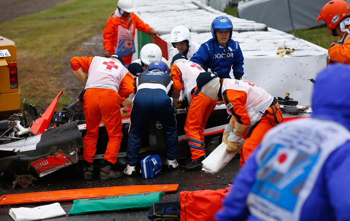 Jules Bianchi, acidente Fórmula1 F1 (Foto: Getty Images)