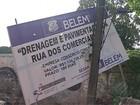 Prefeito Zenaldo Coutinho explica atrasos em obras públicas de Belém