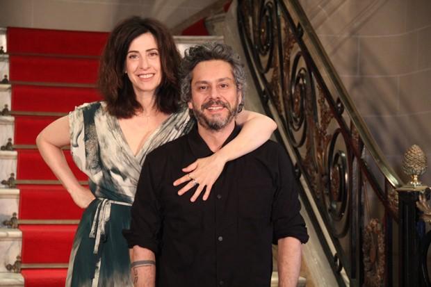 Fernanda Torres e Alexandre Nero (Foto: AgNews)