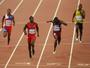 Justin Gatlin é atração em desafio  dos 100m na Quinta da Boa Vista