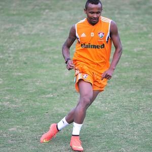 Chiquinho Treino Fluminense (Foto: Moyses Ferman)