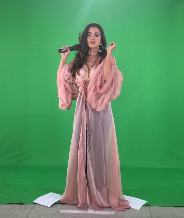 Anitta  um espetculo na apresentao do ltimo Msica Boa Ao Vivo da temporada (Foto: Multishow)