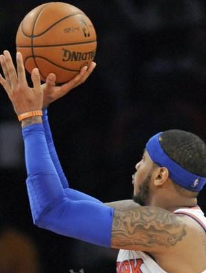 NBA Carmelo Anthony New York Knicks recorde (Foto: Agência AP)