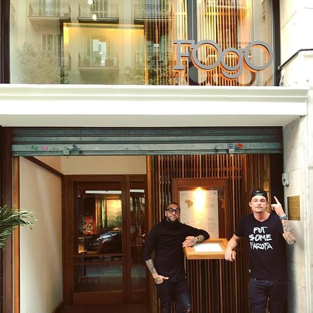 Conheça o restaurante de Daniel Alves em Barcelona (Foto: Reprodução)