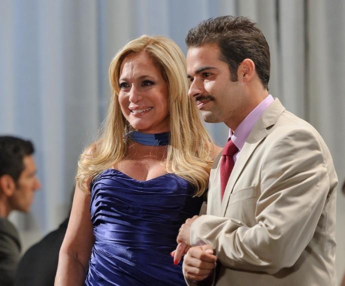 Susana Vieira fez participação na coprodução 'Laços de Sangue' (Foto: Foto: TV Globo)