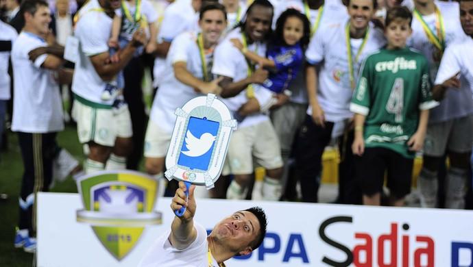 Cristaldo Palmeiras título (Foto: Marcos Ribolli)
