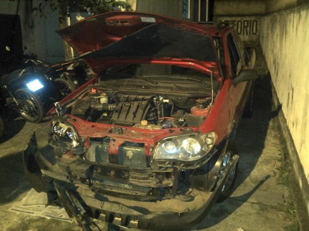 Droga estava escondida na lataria do veículo (Foto: BPRV / Divulgação)