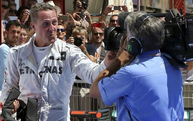 Michael Schumacher GP da Europa Valência (Foto: EFE)