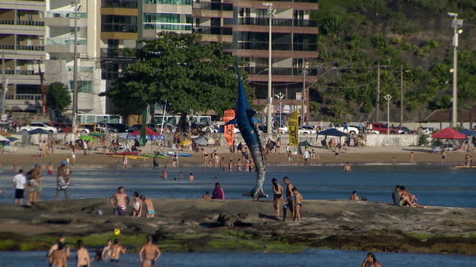 Guarapari é o primeiro destino da rota de verão do Em Movimento (Foto: Divulgação/ TV Gazeta ES)